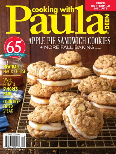 Cooking With Paula Deen Magazine October 1st, 2021 Issue Cover