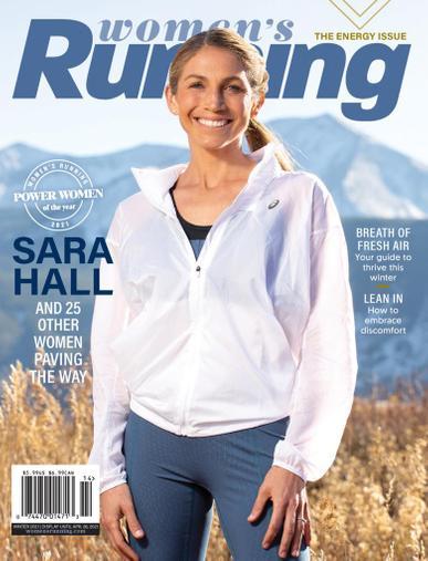 Women's Running Magazine December 10th, 2020 Issue Cover