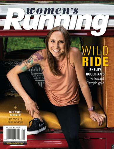 Women's Running Magazine July 1st, 2020 Issue Cover