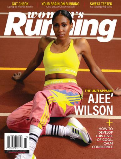 Women's Running Magazine July 5th, 2021 Issue Cover