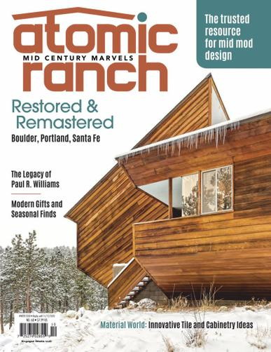Atomic Ranch Magazine October 1st, 2020 Issue Cover