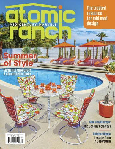 Atomic Ranch Magazine April 1st, 2021 Issue Cover