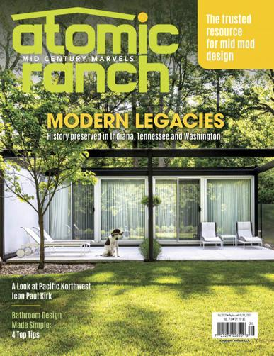 Atomic Ranch Magazine August 1st, 2021 Issue Cover