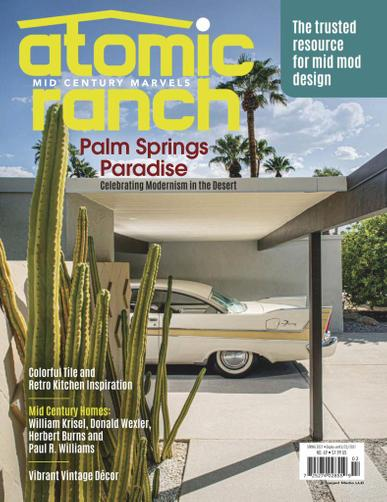 Atomic Ranch Magazine February 1st, 2021 Issue Cover