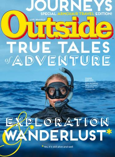 Outside Magazine June 1st, 2020 Issue Cover