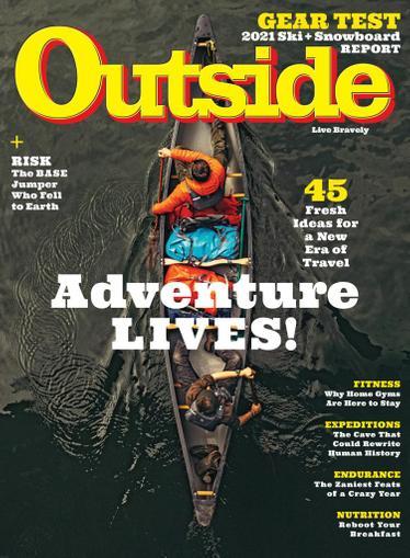 Outside Magazine November 1st, 2020 Issue Cover