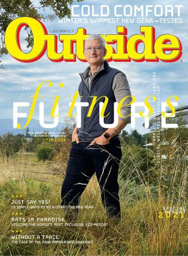 Outside Magazine February 1st, 2021 Issue Cover