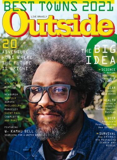 Outside Magazine September 1st, 2021 Issue Cover