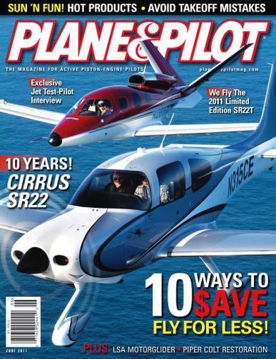Plane & Pilot Magazine May 10th, 2011 Issue Cover