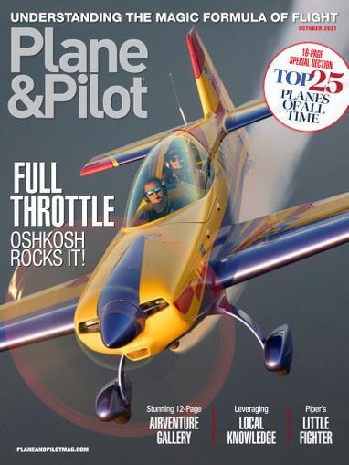 Plane & Pilot Magazine October 1st, 2021 Issue Cover