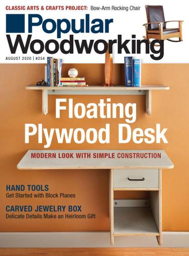 Popular Woodworking Magazine August 1st, 2020 Issue Cover