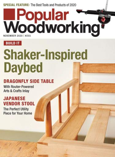 Popular Woodworking Magazine November 1st, 2020 Issue Cover