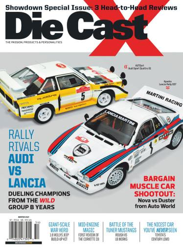 Die Cast X Magazine December 22nd, 2020 Issue Cover