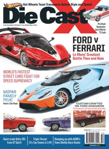Die Cast X Magazine March 30th, 2020 Issue Cover
