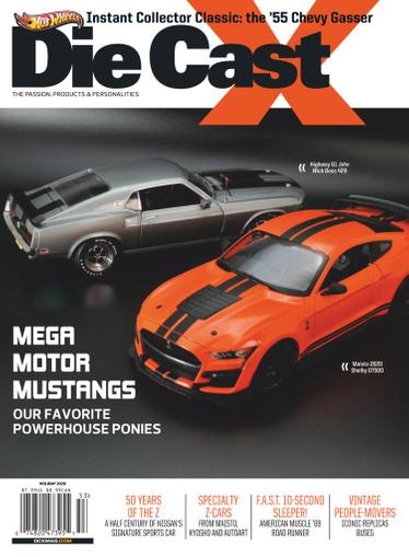Die Cast X Magazine September 22nd, 2020 Issue Cover