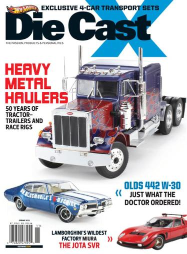 Die Cast X Magazine March 31st, 2021 Issue Cover