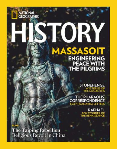 National Geographic History Magazine November 1st, 2020 Issue Cover