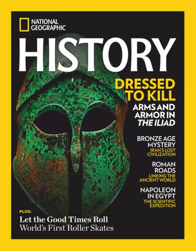 National Geographic History Magazine January 1st, 2021 Issue Cover