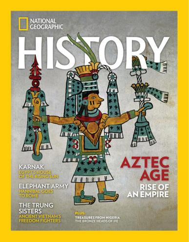 National Geographic History Magazine July 1st, 2021 Issue Cover