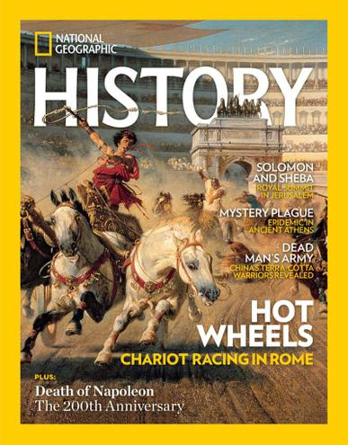 National Geographic History Magazine May 1st, 2021 Issue Cover