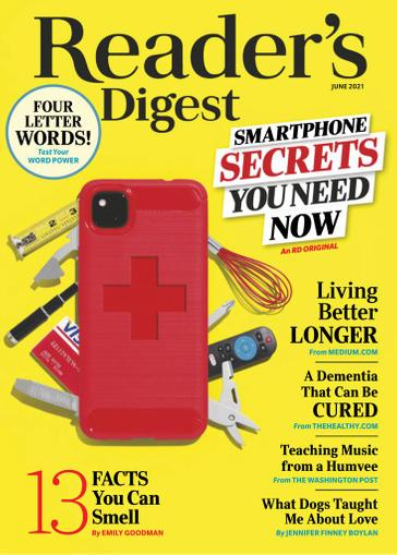 Reader's Digest Magazine June 1st, 2021 Issue Cover