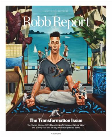 Robb Report Magazine August 1st, 2020 Issue Cover