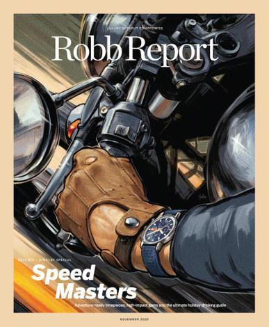 Robb Report Magazine November 1st, 2020 Issue Cover