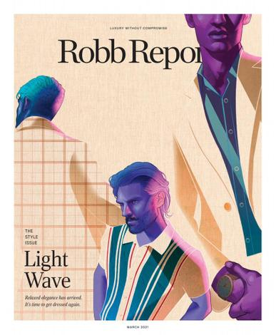 Robb Report Magazine March 1st, 2021 Issue Cover