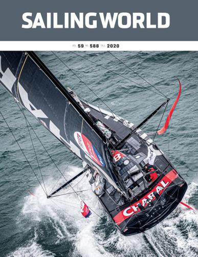 Sailing World Magazine August 17th, 2020 Issue Cover