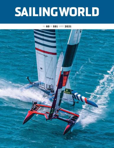 Sailing World Magazine May 17th, 2021 Issue Cover