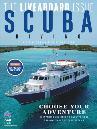 Scuba Diving Magazine August 1st, 2020 Issue Cover