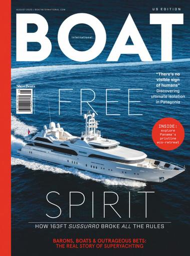Showboats International Magazine August 1st, 2020 Issue Cover