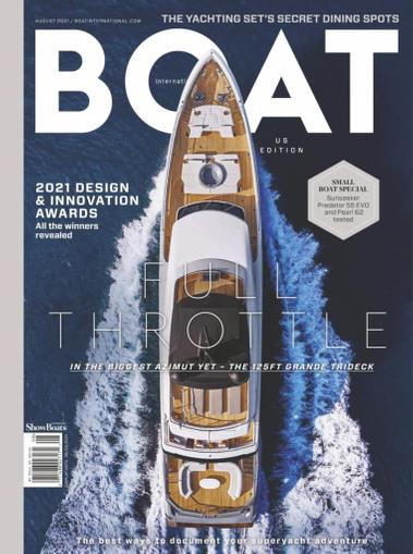 Showboats International Magazine August 1st, 2021 Issue Cover