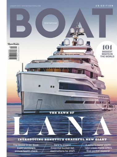 Showboats International Magazine January 2nd, 2021 Issue Cover