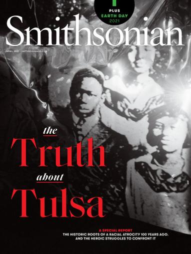 Smithsonian Magazine April 1st, 2021 Issue Cover