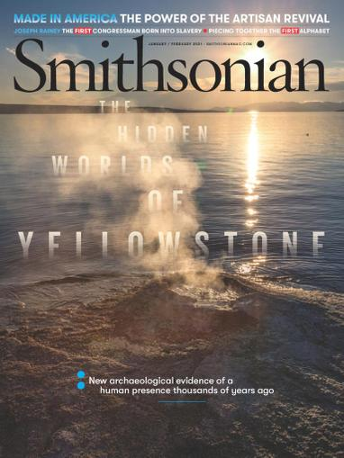 Smithsonian Magazine January 1st, 2021 Issue Cover