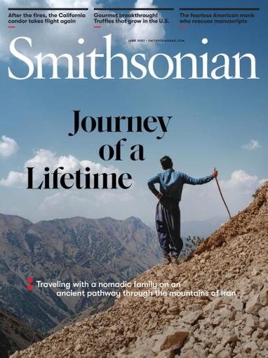 Smithsonian Magazine June 1st, 2021 Issue Cover