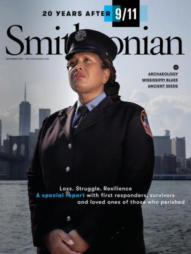 Smithsonian Magazine September 1st, 2021 Issue Cover