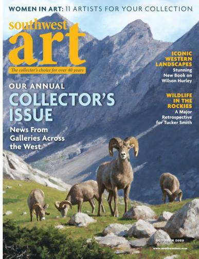 Southwest Art Magazine October 1st, 2020 Issue Cover