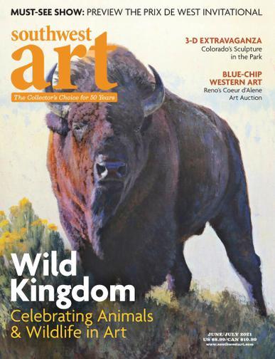 Southwest Art Magazine June 1st, 2021 Issue Cover