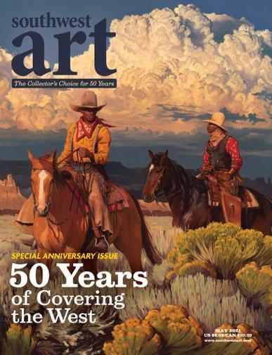 Southwest Art Magazine May 1st, 2021 Issue Cover