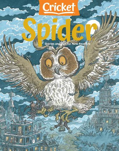 Spider Magazine October 1st, 2020 Issue Cover
