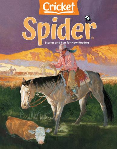 Spider Magazine April 1st, 2021 Issue Cover