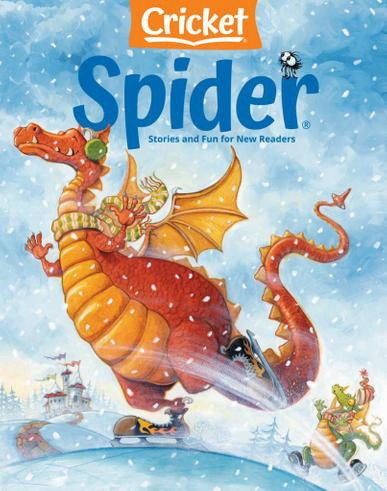 Spider Magazine January 1st, 2021 Issue Cover