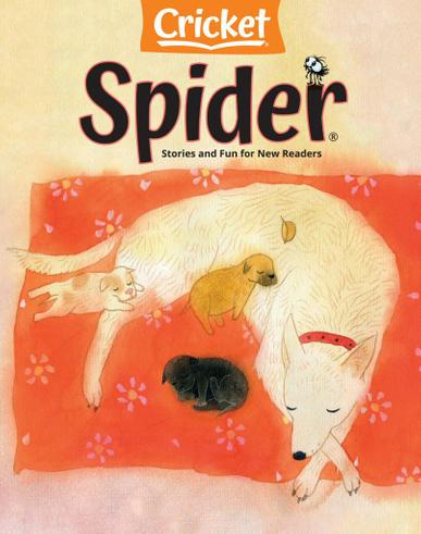 Spider Magazine May 1st, 2021 Issue Cover