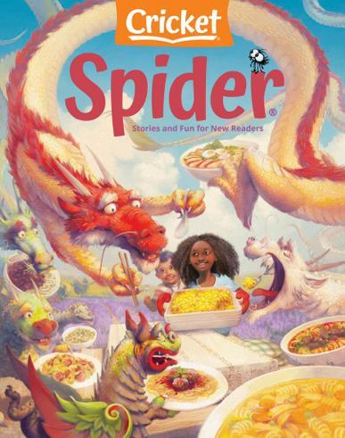 Spider Magazine September 1st, 2021 Issue Cover