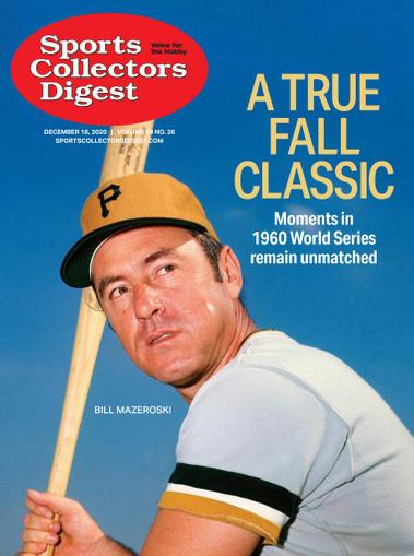 Sports Collectors Digest Magazine December 18th, 2020 Issue Cover