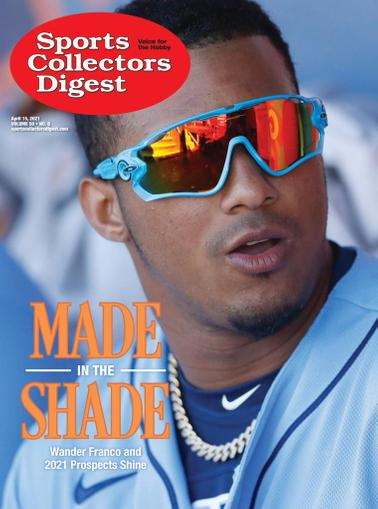 Sports Collectors Digest Magazine April 15th, 2021 Issue Cover