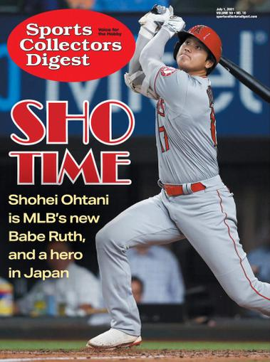 Sports Collectors Digest Magazine July 1st, 2021 Issue Cover
