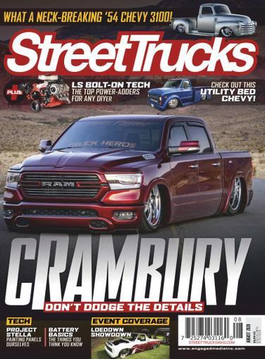 Street Trucks Magazine August 1st, 2020 Issue Cover